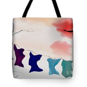 Strange Afternoon Tote Bag