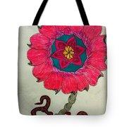Strange Flower Tote Bag