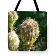 Strange Flowers Tote Bag