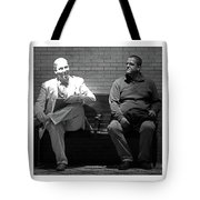 Strange Friends Tote Bag