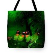 Strange Love Tote Bag