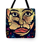 Strange Man Color Tote Bag