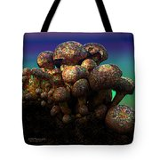 Strange Mushrooms 2 Tote Bag