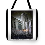 Strange Night II Tote Bag