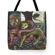 Strange Reverie Detail Tote Bag
