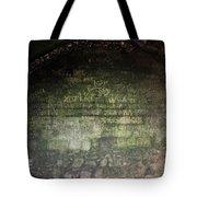 Strange Wall Marks Tote Bag