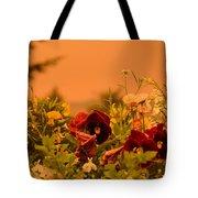 Strange Weather/flourished Flower Tote Bag