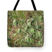 Strange Weed Tote Bag