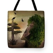 Stranger In The Forest Tote Bag