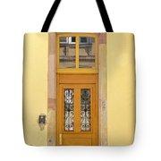 Strasbourg Door 03 Tote Bag