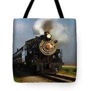 Strasburg Locomotive Tote Bag