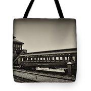 Strasburg Rail Road Tote Bag