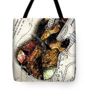 Strat Abstracta No. 4 Sunrise Tote Bag