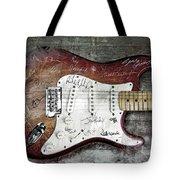 Strat Guitar Fantasy Tote Bag