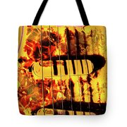 Stratocaster Strat Plus Lace Sensors Pop Art Tote Bag