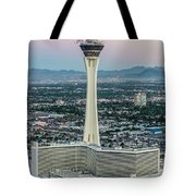 Stratosphere Casino Hotel And Tower Tote Bag