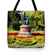 Strauss In Flowers Tote Bag