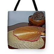 Straw Fans Tote Bag