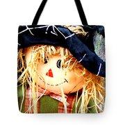 Straw Girl Tote Bag
