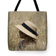 Straw Hat Tote Bag