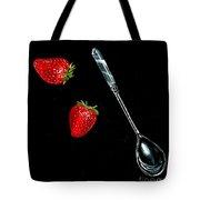 Strawberries Anyone Tote Bag