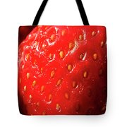 Strawberry Abstract Tote Bag
