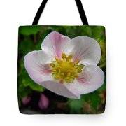 Strawberry Blossom Tote Bag