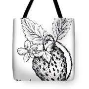 Strawberry Dreams Tote Bag