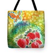 Strawberry Garden Tote Bag