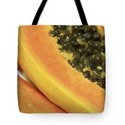 Strawberry Papaya Tote Bag