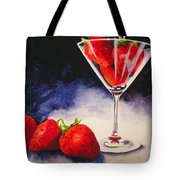 Strawberrytini Tote Bag