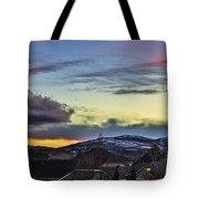 Streaks Of Light Tote Bag