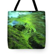 Stream Above Whitehorse Falls Tote Bag