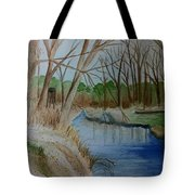 Stream For Chandler Tote Bag