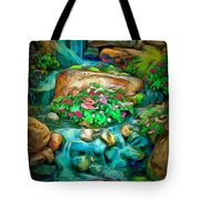 Stream In Ambiance Tote Bag
