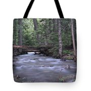 Stream In The Forest Tote Bag