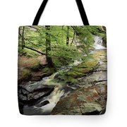 Stream In The Irish Countryside Tote Bag