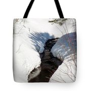 Stream In The Shadows Tote Bag