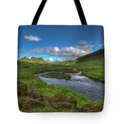 Stream South Iceland Tote Bag