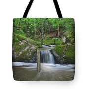 Stream Waterfall Tote Bag