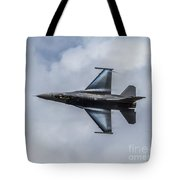 Streaming Past The Clouds Tote Bag