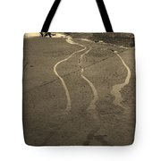 Streams In The Lot Tote Bag