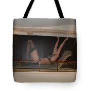 Streeeeching  Tote Bag