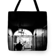 Street Ally New Orleans Black  Tote Bag