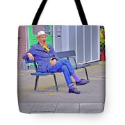 Street Art. Eighth Octave C. Tote Bag