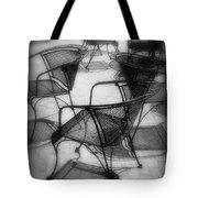 Street Cafe Tote Bag