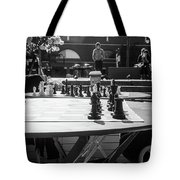 Street Chess 2 Tote Bag