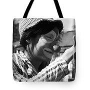 Street Clown  Tote Bag
