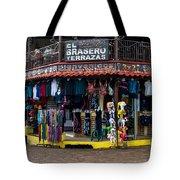 Street Commerce At Ataco Tote Bag
