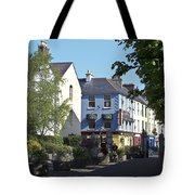 Street Corner In Tralee Ireland Tote Bag